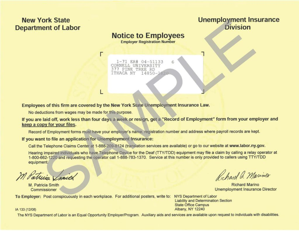 Furloughed Employees Need the NYS Record of Employment ...